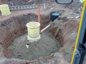 Installing a new septic tank in Herefordshire